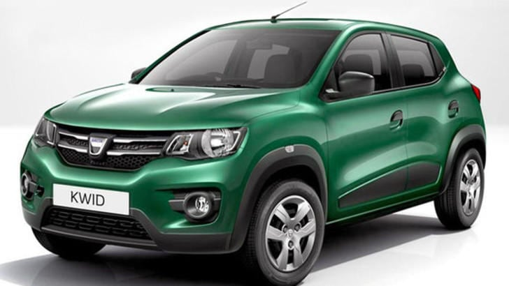 dacia arriva il suv kwid a euro tuttosport. Black Bedroom Furniture Sets. Home Design Ideas