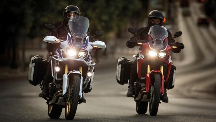 Honda: Africa Twin è la moto più venduta di gennaio