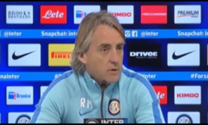 """Mancini: """"Solo in Italia squalificano gli allenatori"""""""