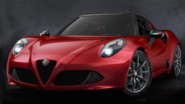 Alfa Romeo 4C Spider 50th Anniversary, mezzo secolo di duetto
