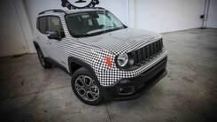"Jeep: la Renegade ""pied-de-poule"" di Lapo"