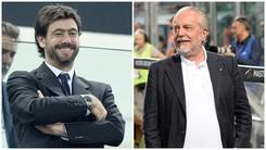 Juventus-Napoli:Agnelli-De Laurentiis, figli-nipoti vincenti