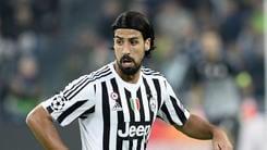 Juventus, miracolo Khedira: convocato! Allegri deve decidere se rischiarlo