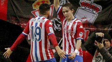 Liga, Sporting Gijon-Rayo Vallecano 2-2: in rete anche Halilovic