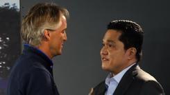 Thohir: «Punto alla Champions e sostengo Mancini»