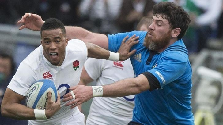Rugby Sei Nazioni: diretta Italia-Inghilterra 9-40