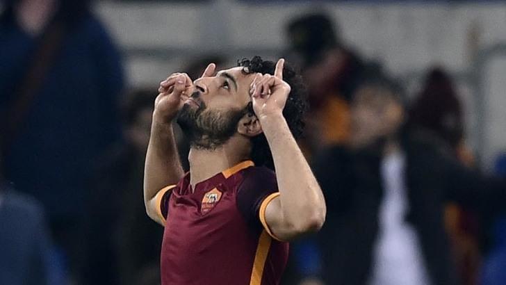 Serie A: Roma-Palermo 5-0, doppiette di Salah e Dzeko