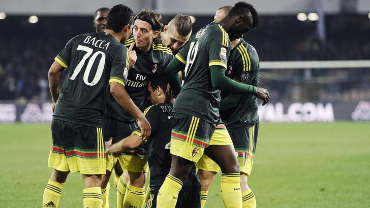 Serie A, Napoli-Milan 1-1: la Juventus resta prima