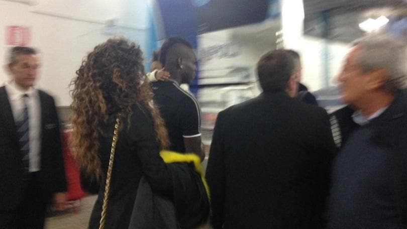 Milan, Balotelli rivede la figlia Pia al San Paolo: «Che emozione!»