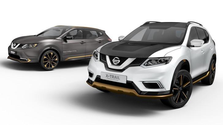 Ginevra 2016, Nissan Qashqai e X-Trail dievntano Premium