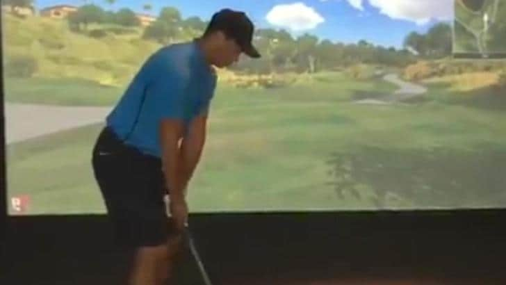 Golf, Tiger Woods posta video per allontanare le voci sul ritiro