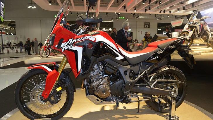 Motodays, Honda: l'Africa Twin si può guidare