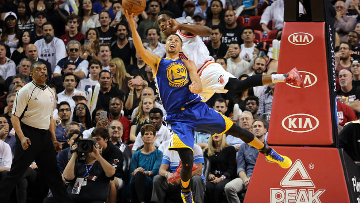 Curry stende ancora OKC, Warriors come i Bulls