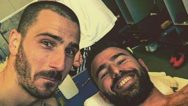 Juventus, Bonucci dopo il gol di Barzagli: «Che bomber»