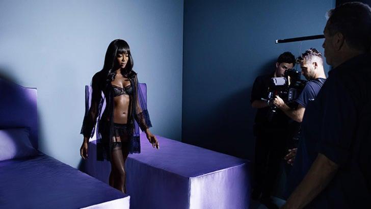 La super top model Naomi Campbell testimonial di Yamamay