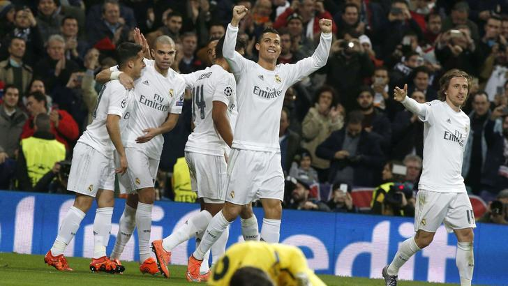 Champions League, Real Madrid-Roma 2-0: decidono CR7 e James, giallorossi eliminati