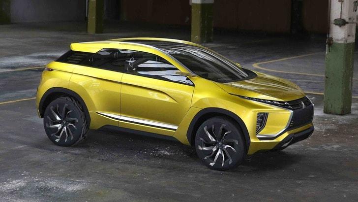 """Mitsubishi eX Concept: 400 km di autonomia per il SUV """"green"""""""