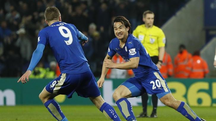 Premier League: Leicester-Newcastle 1-0, decide la rovesciata di Okazaki