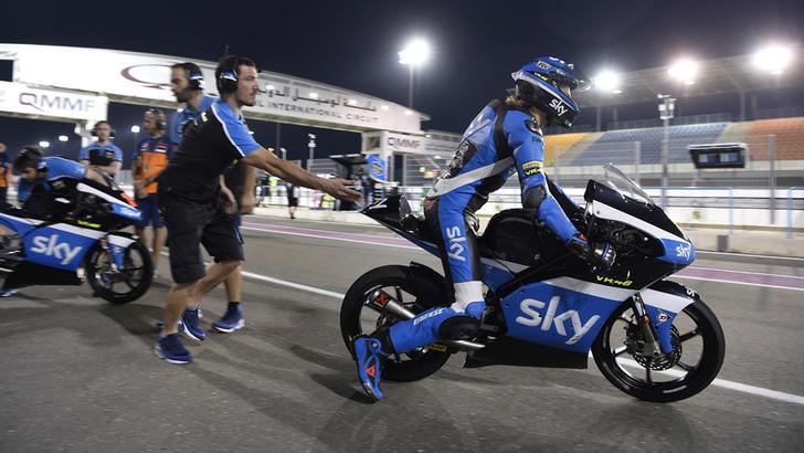 Moto3 Losail, libere: quanta Italia dietro Loi!