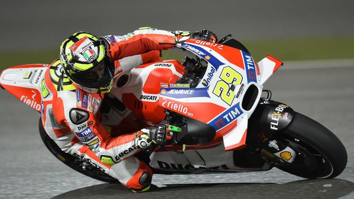 MotoGP Qatar, libere3: fenomeno Iannone, settimo Rossi - Tuttosport