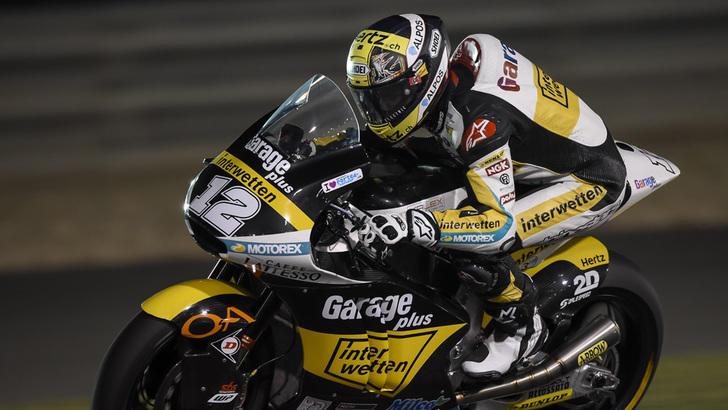 Moto2 Qatar: trionfo Luthi, Corsi è 3°