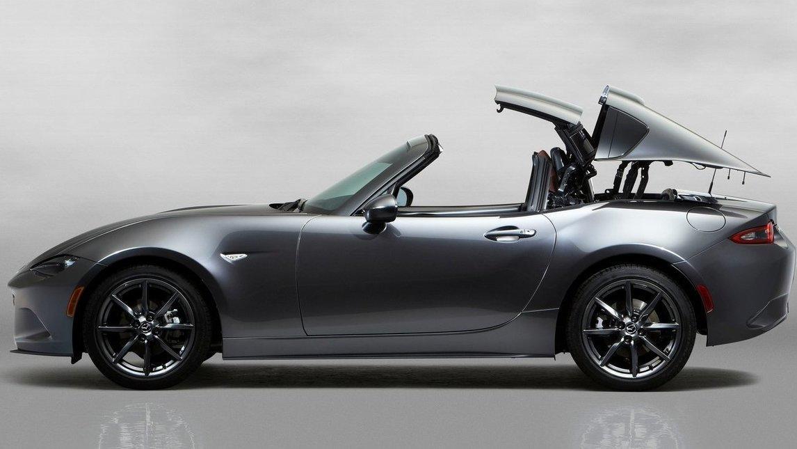 Mazda MX-5 RF, ecco la versione hard-top