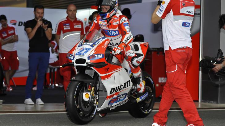 MotoGp Ducati, Stoner: «Test ok, ma niente wild card»
