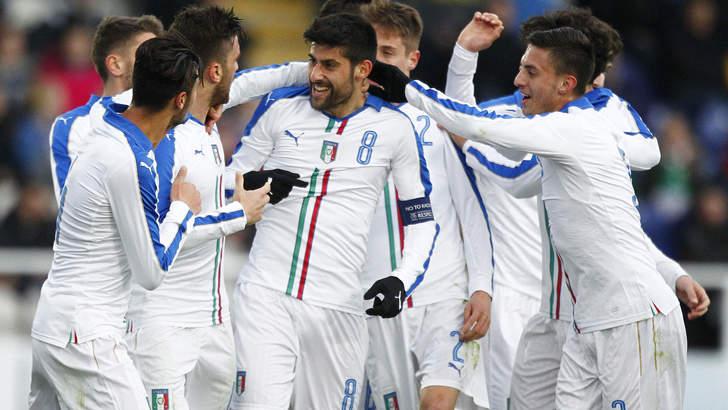 Under 21 Irlanda-Italia 1-4: gli azzurri calano il poker, Benassi travolgente