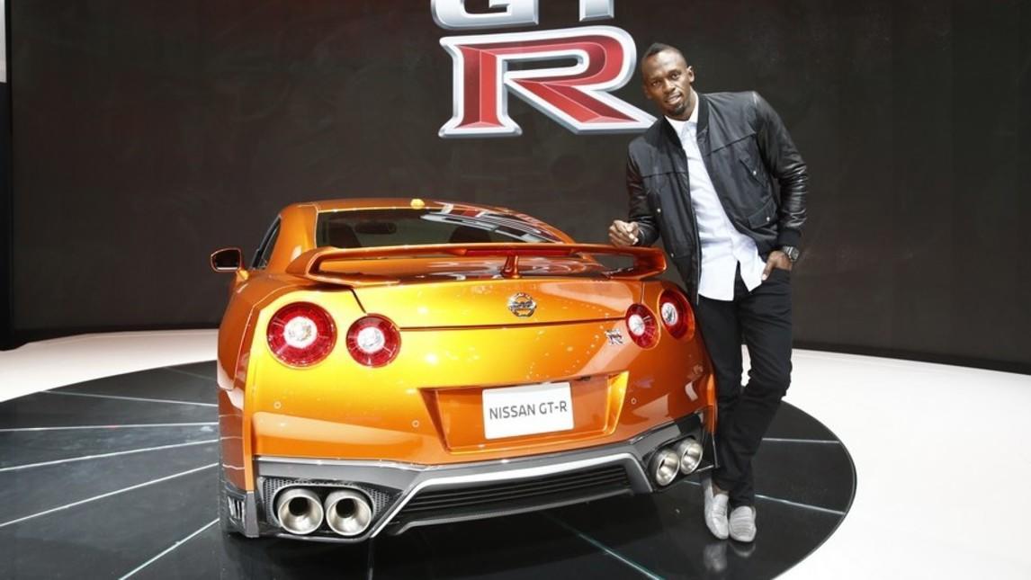 Bolt, l'uomo più veloce padrino della Nissan più veloce