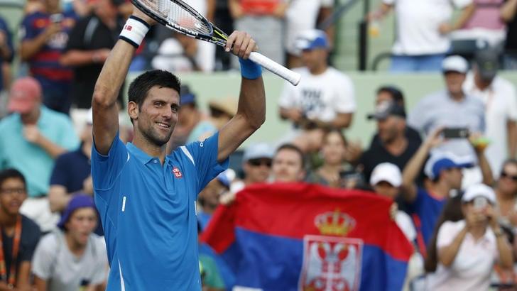Tennis, Miami: Djokovic da quarti a 1,03
