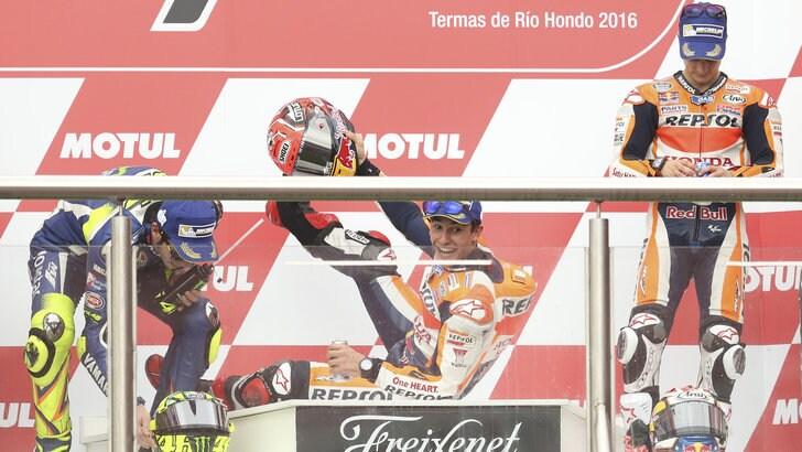 MotoGp Argentina, Pedrosa: «Gara tremenda, sono stato fortunato»