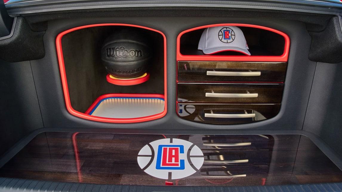 Lexus RC-F, la one-off dedicata ai Clippers