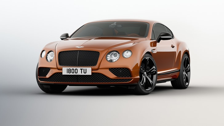 Bentley Continental GT: 331 km/h per la Speed Black Edition