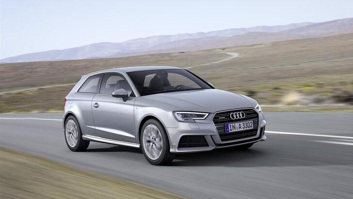 Nuova Audi A3, debutta il turbo 3 cilindri