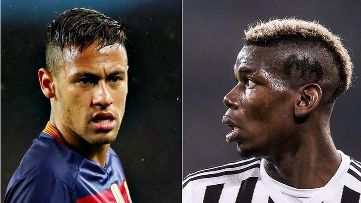 Calciomercato Juventus, Neymar: «Mi piacerebbe giocare con Pogba»