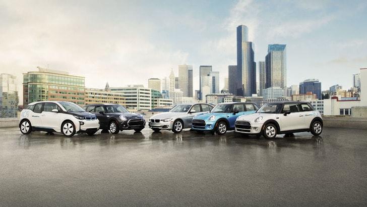 BMW lancia ReachNow, nuova forma di car sharing