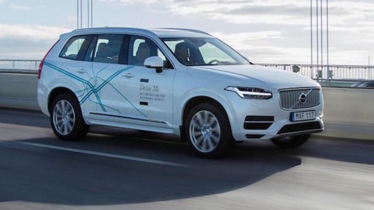 Volvo in Cina per il maxi-test con la guida autonoma