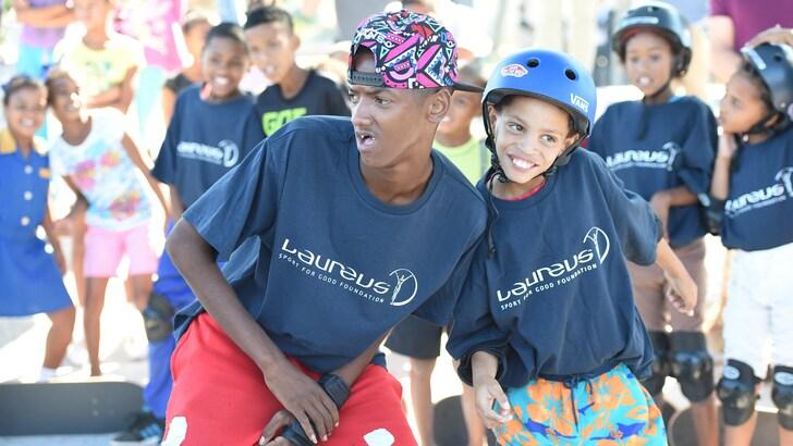 Laureus in Sudafrica, così con lo sport si salvano i bambini