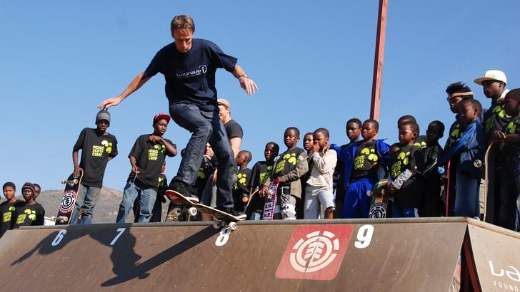 "Laureus Real Heroes - Charl Jensel: ""Lo skateboard è vita"""