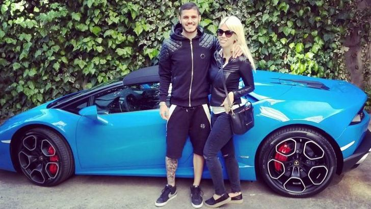 Icardi e Wanda si regalano una Spyder da 200 mila euro