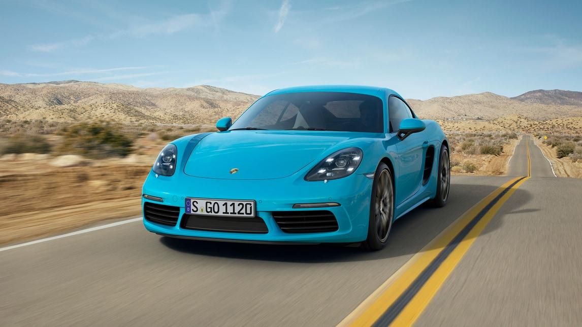 Porsche 718 Cayman, due cilindri in meno ma cavalli in più