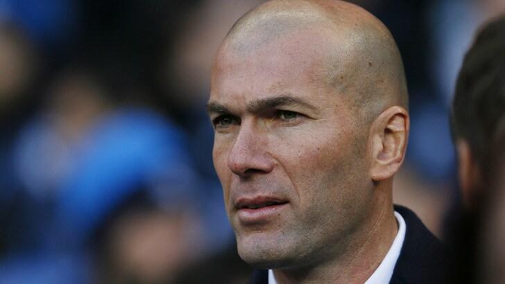 Zidane: «Forza Juventus, contento per lo scudetto»