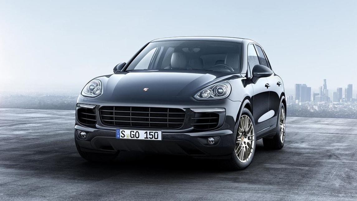 Nuove Porsche Cayenne Platinum Edition, foto e prezzi