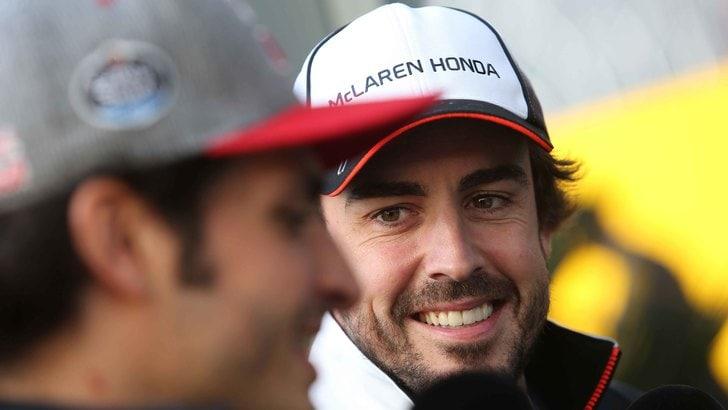 F1, Alonso salta i test di Barcellona