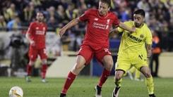 Europa League: Liverpool ko, ora la finale è a 2,40