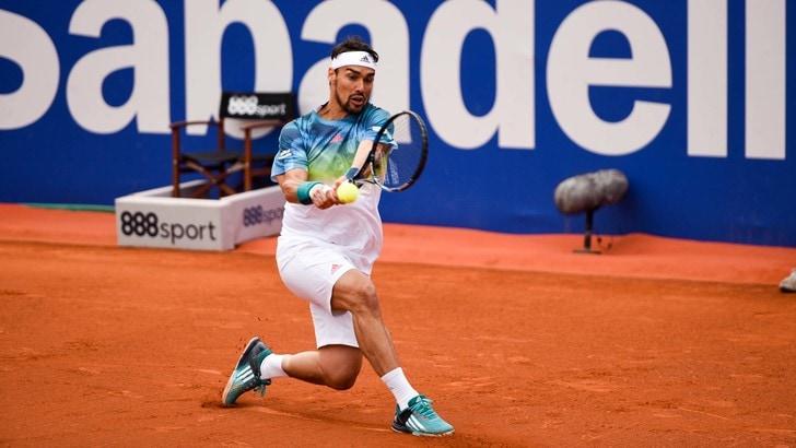 Tennis Atp: Fognini esce in semifinale a Monaco di Baviera