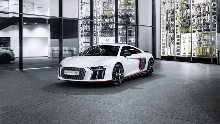 Audi R8 V10 Plus selection 24h, estrema ed esclusiva