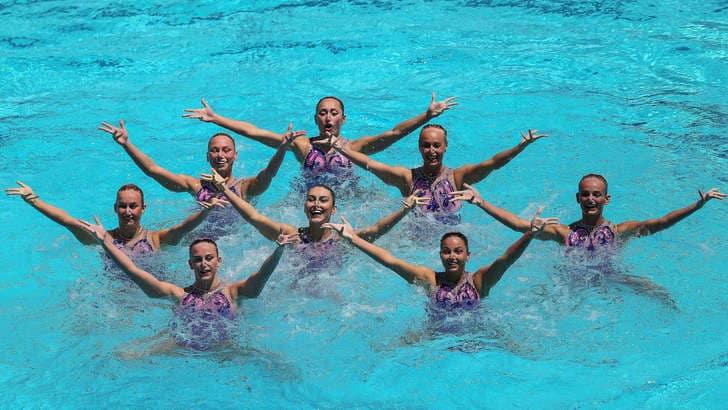 Europei nuoto sincro: bronzo nella gara a squadre per l'Italia