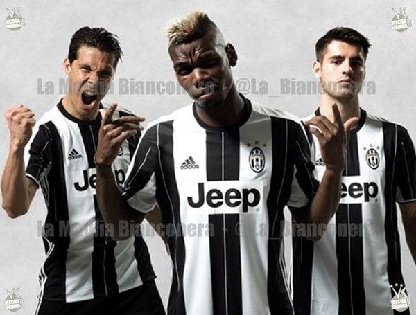 Juventus: Hernanes, Pogba e Morata per la nuova maglia