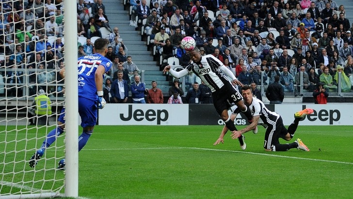 Juventus: talismano Evra, allo Stadium contro la Sampdoria segna sempre